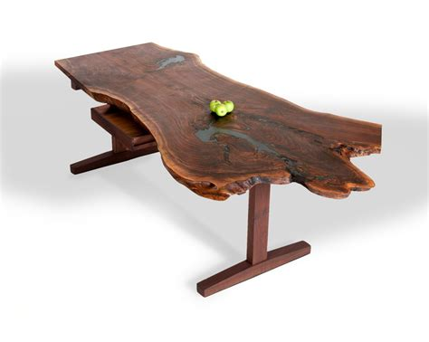 custom  slab desks  david stine woodworking
