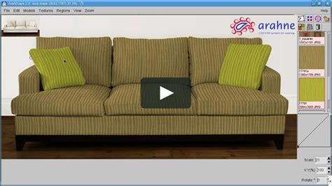 sofa vimeo creating seamless fabric textures and mapping them on a