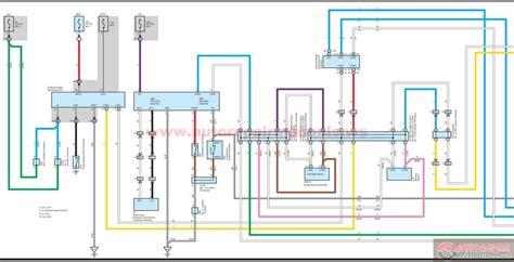 toyota electrical circuit  rav    eng