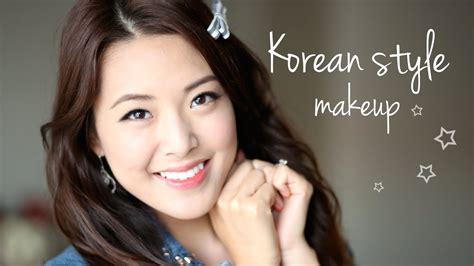 korean style makeup tutorial youtube