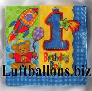 Servietten 1 Geburtstag : partydekoration zum 1 geburtstag servietten b rchen zahl 1 lu kinder geburtstag party ~ Udekor.club Haus und Dekorationen