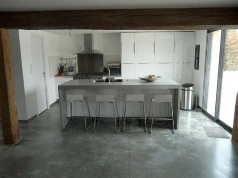 mati鑽e plan de travail cuisine beton cire plan de travail leroy merlin maison design bahbe com