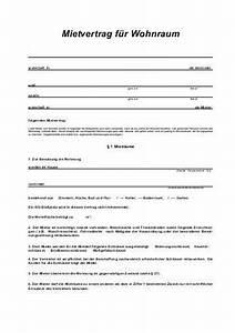 Hamburger Mietvertrag Für Wohnraum Kostenlos : mietvertrag f r wohnr ume ~ Lizthompson.info Haus und Dekorationen