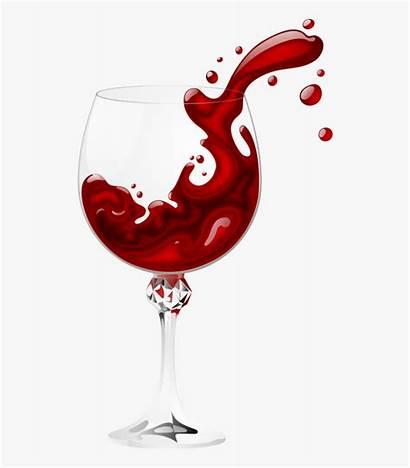 Wine Glass Splash Vino Copa Transparent Vine