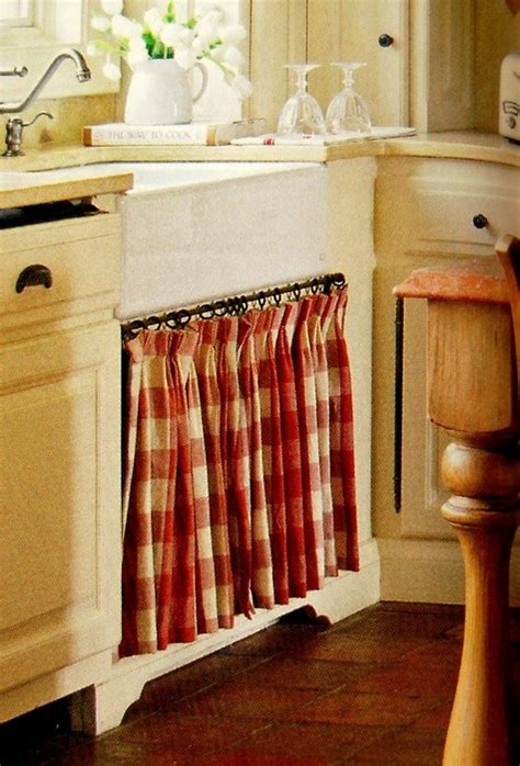 cabinet and the curtain perfection home kitchen