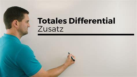 totales differential zusatz beispiel