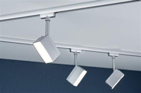 eclairage sur rail plafond eclairage tableau eclairage sur rail plafond led spot pedal 5w paulmann