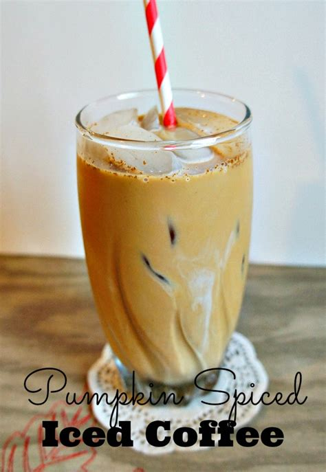 Now, when you're ready to make. Seattle's Best Coffee Pumpkin Spiced Iced Coffee Recipe #GreatTaste - The Rebel Chick