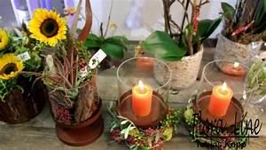 Floristik Gestecke Selber Machen : herbstfloristik 2013 by flora line youtube ~ Watch28wear.com Haus und Dekorationen