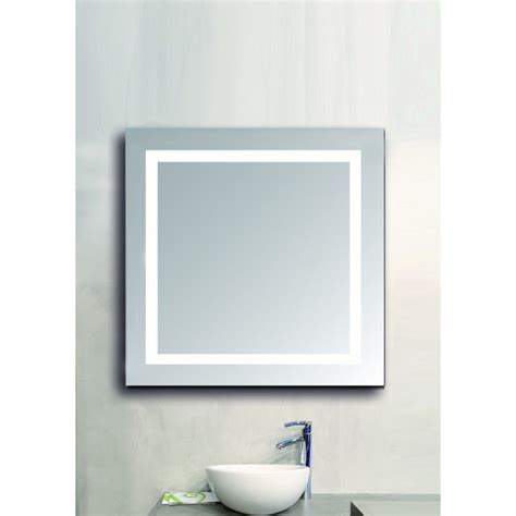 salle de bain carre miroir lumineux de salle de bain carr 233 acb iluminacion comptoir des lustres