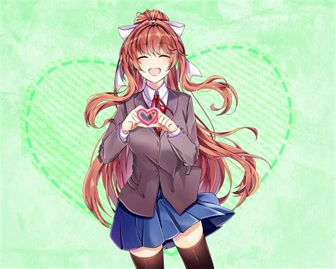 Join the literature club to enjoy fun activities and chat with all of its members! Monika on   Doki, Anime beautiful e Anime