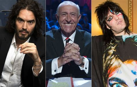russell brand on bake off russell brand vows to be a judge on strictly after noel
