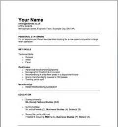 resume for retail merchandiser sle retail merchandiser resume