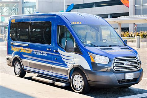 Shuttle Ride To Airport how it works supershuttle