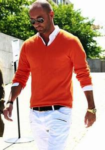 Menu0026#39;s Orange Style Inspiration | Famous Outfits