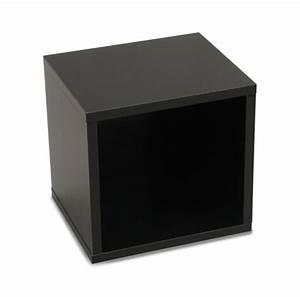 Etagere Cube But : etag res cube module plateau permanent rayonnages 33x3lot de 429 cm noir rotatif ~ Teatrodelosmanantiales.com Idées de Décoration