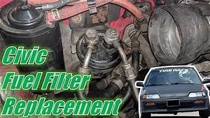 Ef Civic  Crx Fuel Filter Replacement