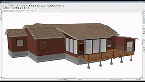 Auto And Manual Shed Roof Creation In Pro 2016