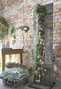 easy natural christmas decor home bunch interior design With awesome decoration pour jardin exterieur 12 deco salon hippie chic
