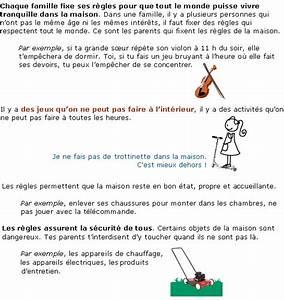 Regle De Vie A La Maison : les r gles de vie la maison soutien scolaire cours ~ Dailycaller-alerts.com Idées de Décoration