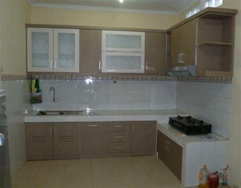 model kitchen set  mini  dapur mungil  lantai
