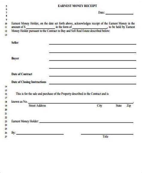 money receipt sle 9 exles in word pdf