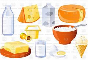 Dairy and poultry products, milk, butter and cheese ...