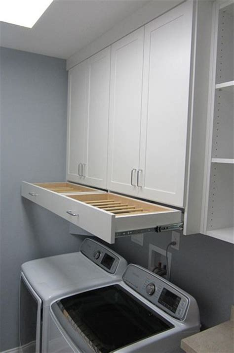 laundry room closet organization ideas omg i that drying rack drawer laundry room cabinet