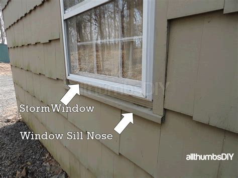 Exterior Window Sill Nose exterior wood around windows green wood shutters window