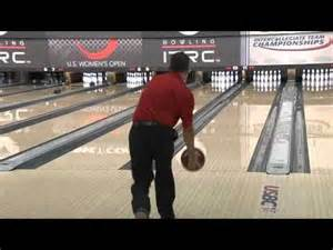 PBA Scorpion Oil Pattern Bowling