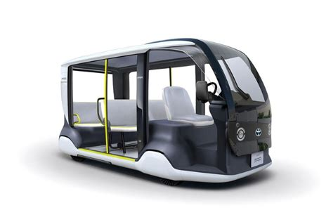 Toyota Olympics 2020 by News Toyota S Apm Brings Futuristic Golf Cart Looks To