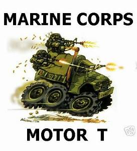 US Marine Corps Motor T Design From One Of My T Shirts