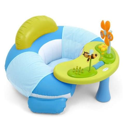 Cotoons Cosy Seat Smoby King Jouet Activités D Siège Gonflable Cosy Seat Cotoons Bleu Smoby Magasin