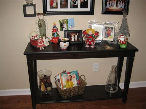 how to decorate a sofa table against a wall sofa table design sofa table christmas decorating ideas