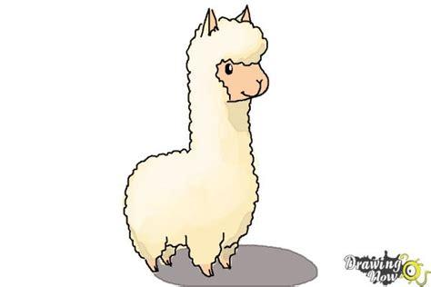 draw  llama  kids drawingnow
