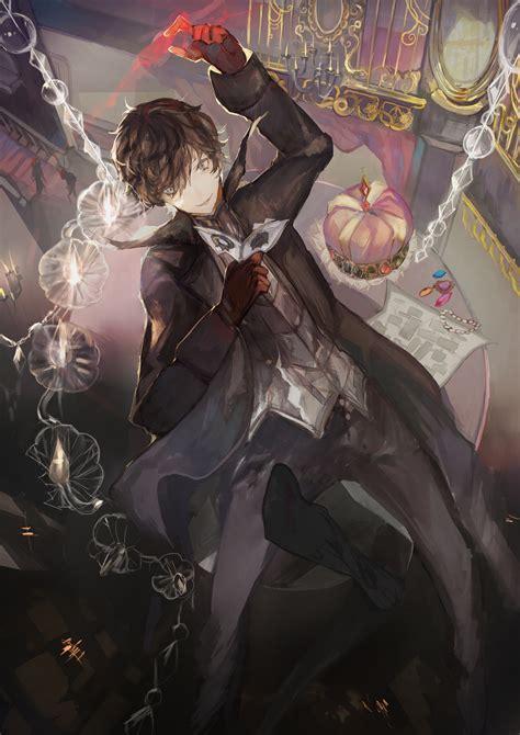 Anime Style Wallpaper - 2893x4092 kurusu joker shin megami tensei