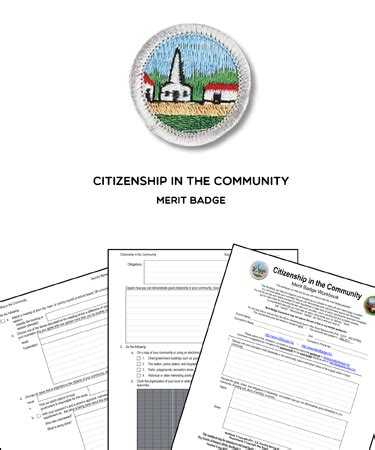citizenship in the nation merit badge worksheet requirements