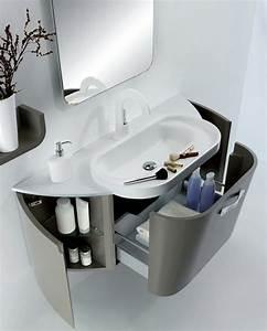 Mobilier Salle De Bain : 18 id es de mobilier salle de bain tr s design ~ Teatrodelosmanantiales.com Idées de Décoration