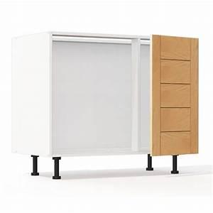 Meuble Bas D Angle Cuisine : mon espace maison meuble bas angle cuisine chene massif verni largeur 100cm ~ Teatrodelosmanantiales.com Idées de Décoration