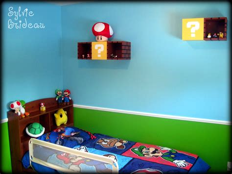 Mario Bros Bedroom by Mario Decor Anything Related To