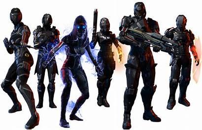 Mass Effect N7 Earth Deviantart Classes Pojedynek