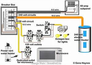 Wire Size  Amp Breaker Brilliant Wiring Diagram  Amp