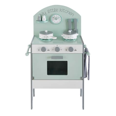 mini cuisine jouet mini cuisine enfant vert d 39 eau moonlight maisons du monde