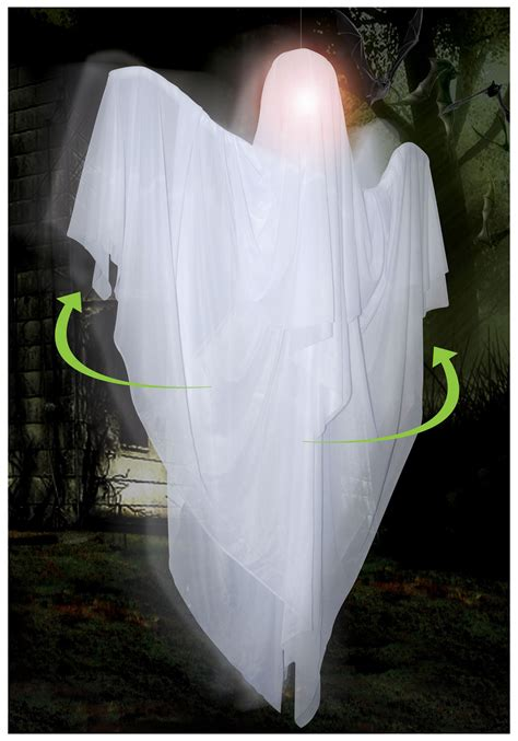 ghost decorations scary hanging rotating ghost decoration graveyard halloween decoration