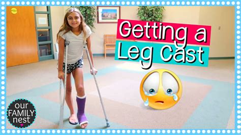 Getting A Leg Cast For Broken Foot Dance Injury Youtube