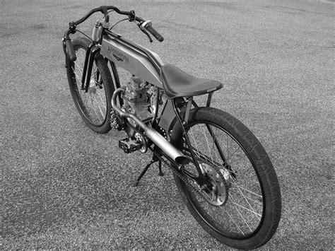 From Sportsman Flyer... A 200cc Board Track Bike