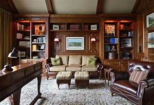Cc traditional home office charlotte by carolina for Traditional home office design