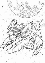 Spaceship Coloring Spaceships Wars Star Pages Ships Drawing Alien Print Space Colouring Printable Sheets Drawings Kleurplaten Printables Disney Adults Stars sketch template