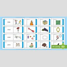 * New * Phase 5 Ae Split Digraph Words Loop Cards