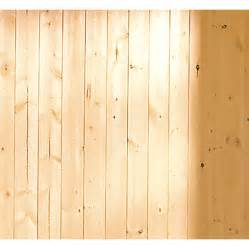 shop evertrue 3 5625 in x 8 ft v groove gold pine wall